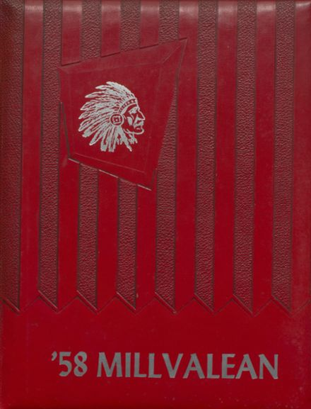 1958 Millvale High School Yearbook Cover