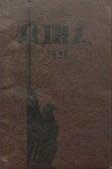 1936 Cleveland High School Yearbook Cover