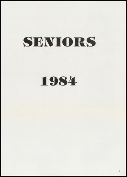 1984 Creede High School Yearbook Page 3