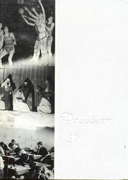 1967 Provo High School Yearbook Cover