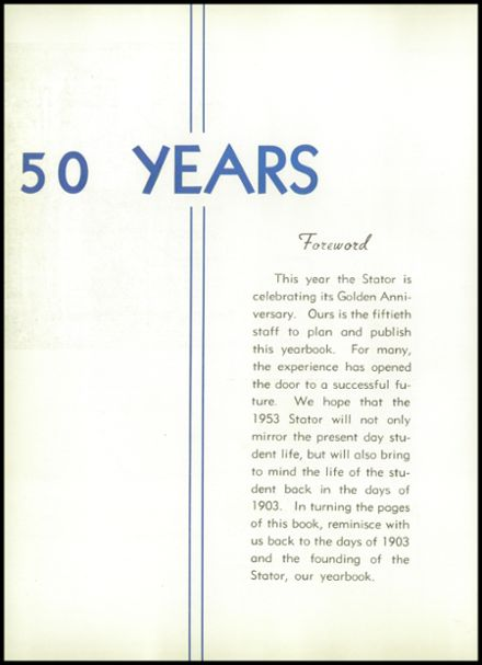 1953 Corning Free Academy Yearbook Page 8
