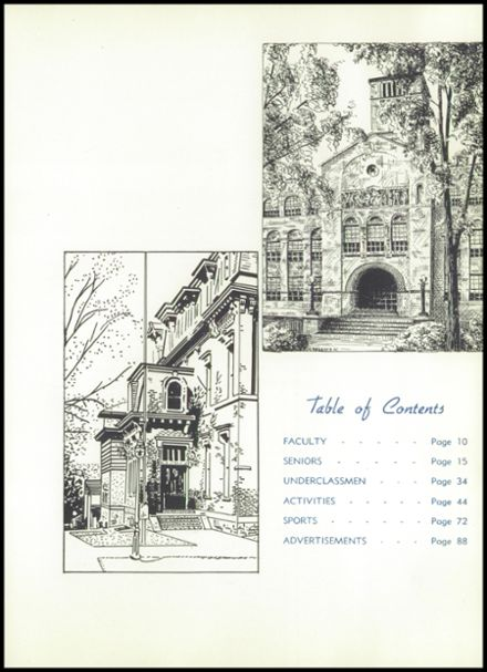 1953 Corning Free Academy Yearbook Page 9