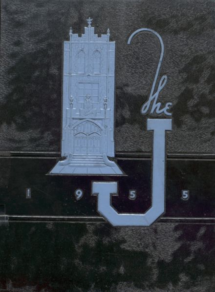 1955 Joliet Township High School Yearbook Cover