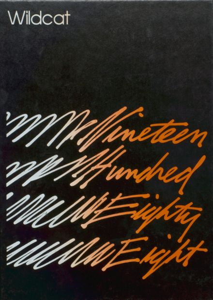 1988 North Union High School Yearbook Cover