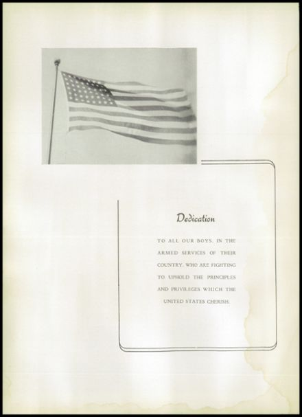 1943 Johnstown High School Yearbook Page 4