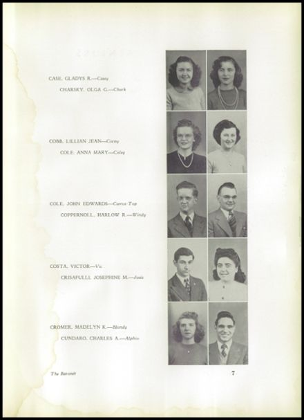 1943 Johnstown High School Yearbook Page 9