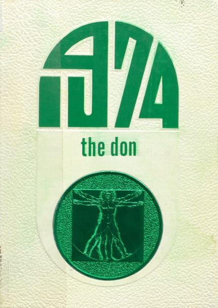 1974 Doniphan High School Yearbook Cover