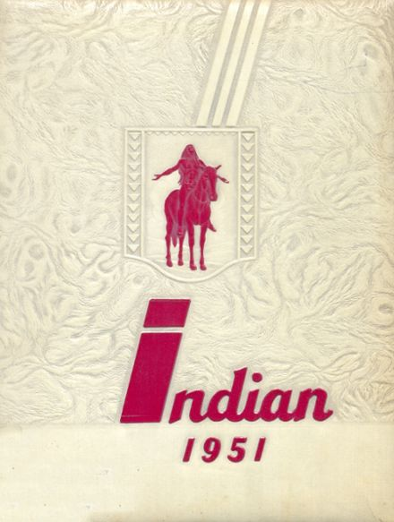 1951 Shawnee Mission North High School Yearbook Cover