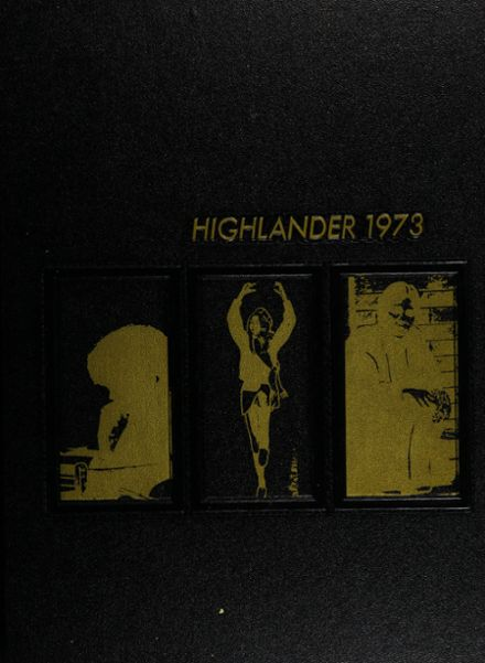 1973 Highland Springs High School Yearbook Cover