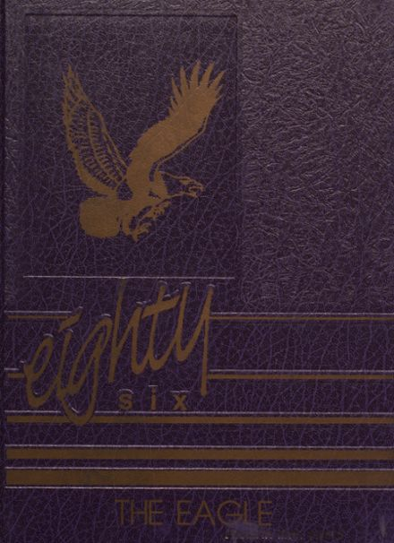 1986 Campbellsville High School Yearbook Cover