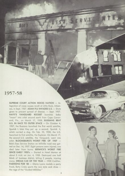 1958 Millville Area High School Yearbook Page 7