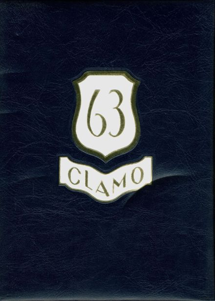 1963 Clayton High School Yearbook Cover