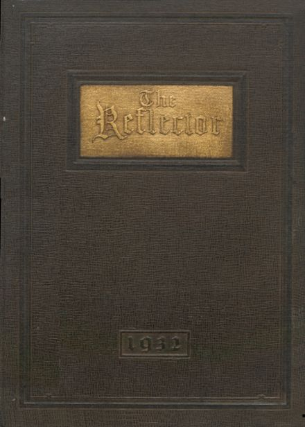 1932 Three Rivers High School Yearbook Cover