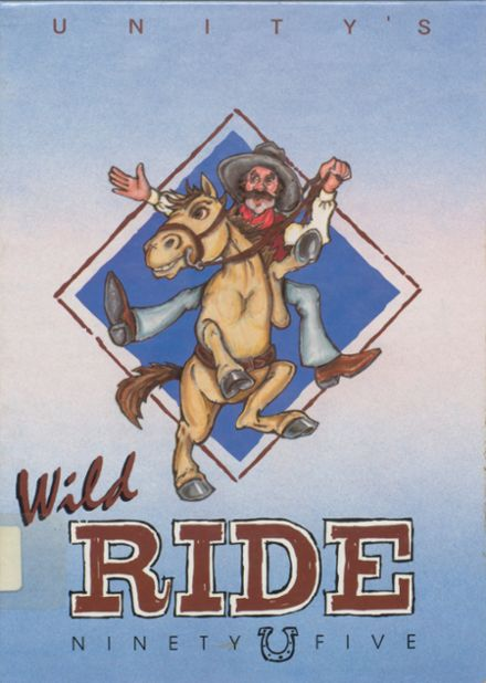 1995 Unity High School Yearbook Cover