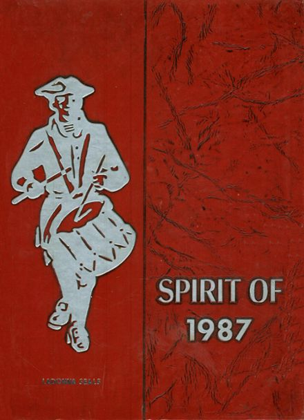 1987 Jefferson County High School Yearbook Cover