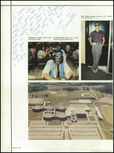 1987 Jefferson County High School Yearbook Page 6