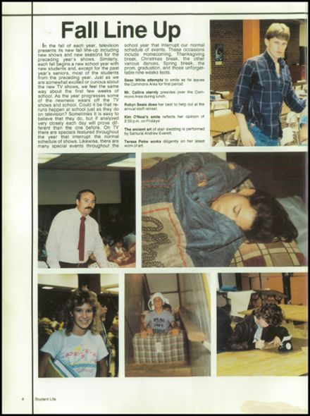 1987 Jefferson County High School Yearbook Page 8