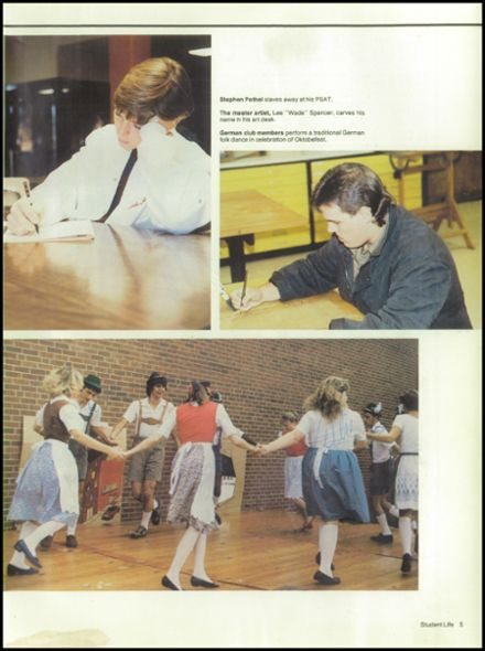 1987 Jefferson County High School Yearbook Page 9