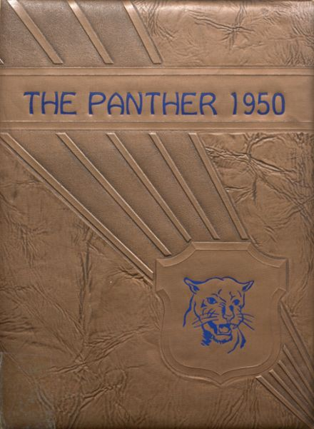 1950 Jal High School Yearbook Cover