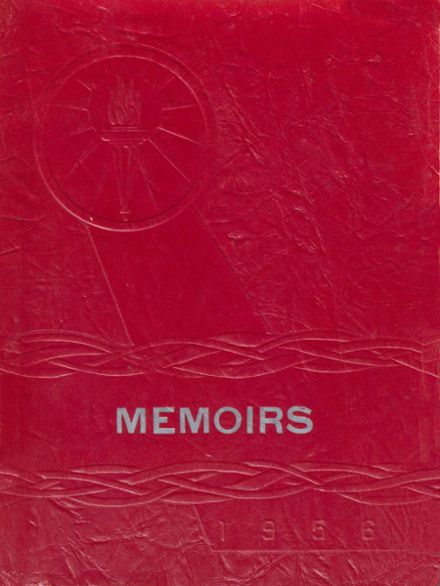 1956 Arcola High School Yearbook Cover
