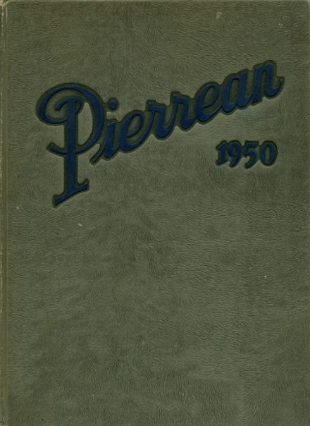 1950 P.S. DuPont High School Yearbook Cover