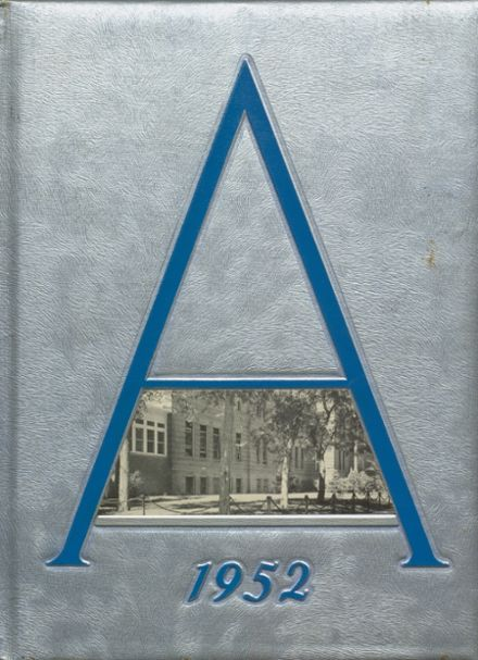 1952 St. Agnes Academy Yearbook Cover