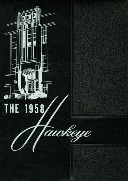 1958 Decatur Central High School Yearbook Cover