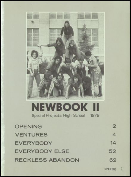 1979 Special Projects High School Yearbook Page 5