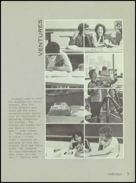 1979 Special Projects High School Yearbook Page 9