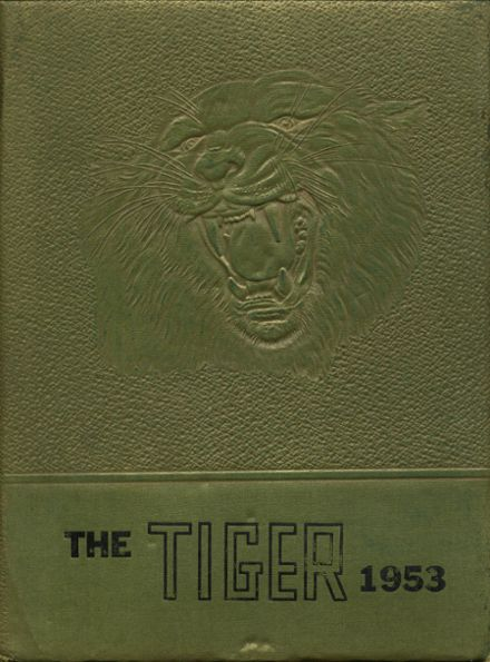 1953 Anson High School Yearbook Cover