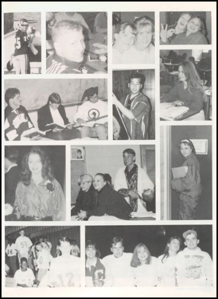 1994 Clarendon High School Yearbook Page 9