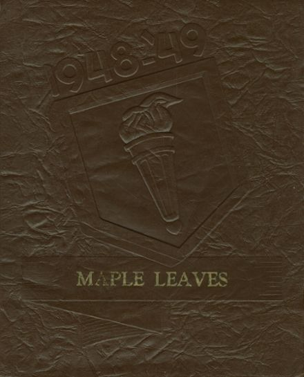 1949 Dale High School Yearbook Cover