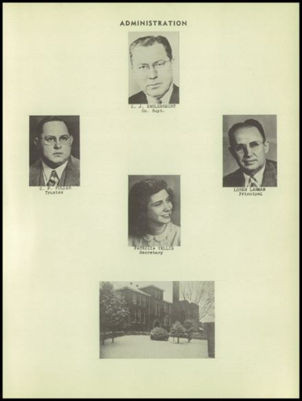 1949 Dale High School Yearbook Page 5