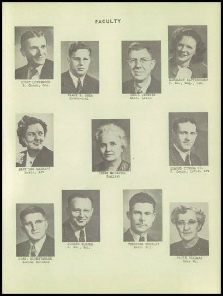 1949 Dale High School Yearbook Page 7