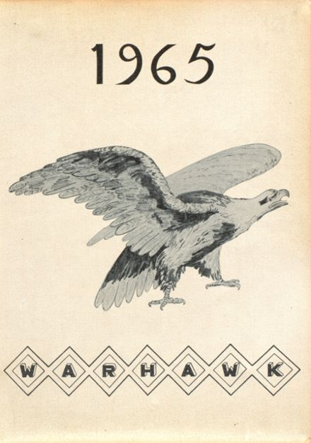 1965 Calhoun County High School Yearbook Cover