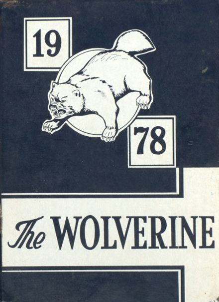 1978 Tompkins High School Yearbook Cover