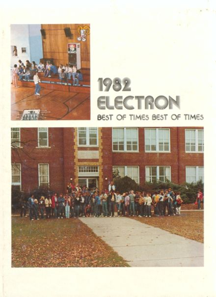 1982 Riverton High School Yearbook Cover