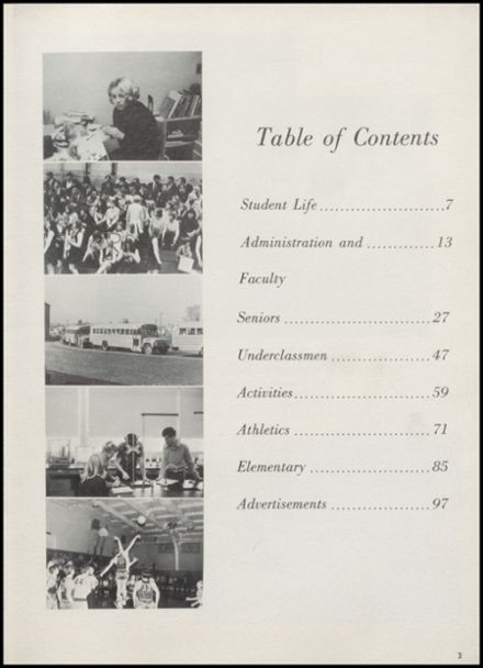 1969 Stillwater High School Yearbook Page 7