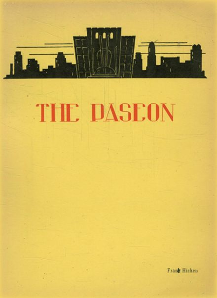 1937 Paseo High School Yearbook Cover