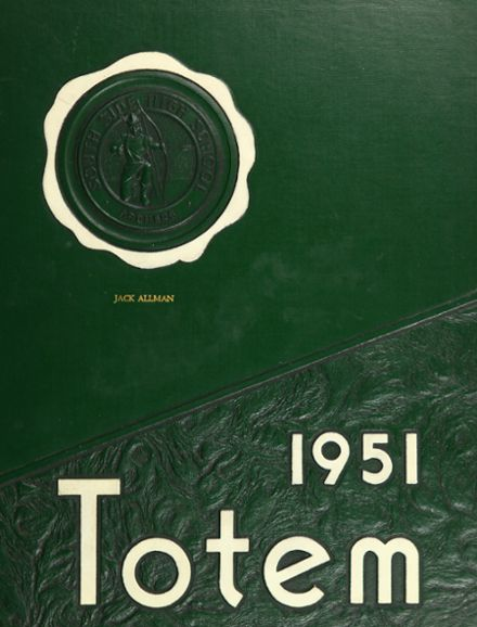 1951 South Side High School Yearbook Cover