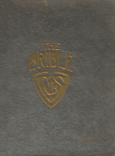 1927 Campbell High School Yearbook Cover