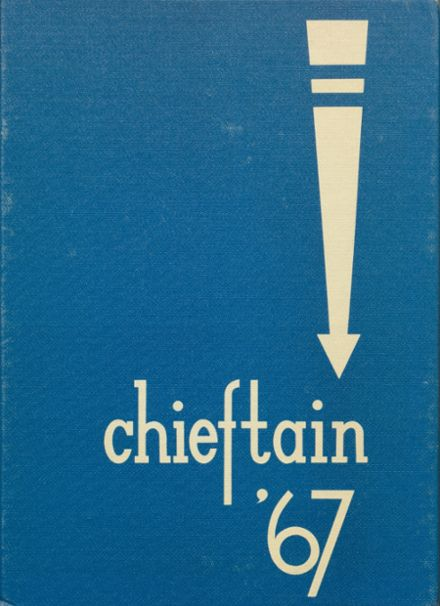 1967 Cohocton Central High School Yearbook Cover