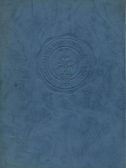 1944 Philadelphia High School for Girls Yearbook Cover