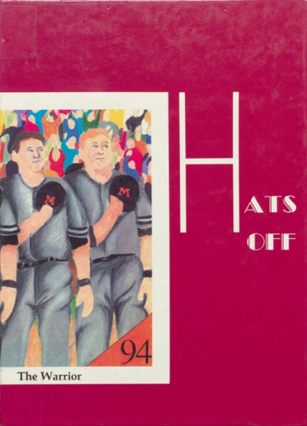 1994 McHenry Community High School Yearbook Cover