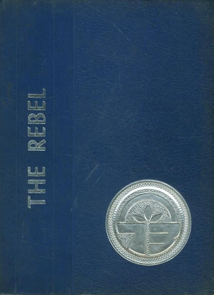 1973 Evadale High School Yearbook Cover