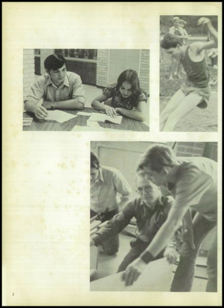 1973 Evadale High School Yearbook Page 6