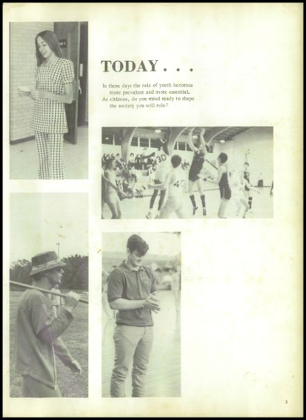 1973 Evadale High School Yearbook Page 7