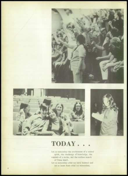 1973 Evadale High School Yearbook Page 8
