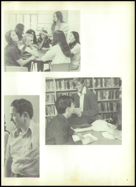 1973 Evadale High School Yearbook Page 9