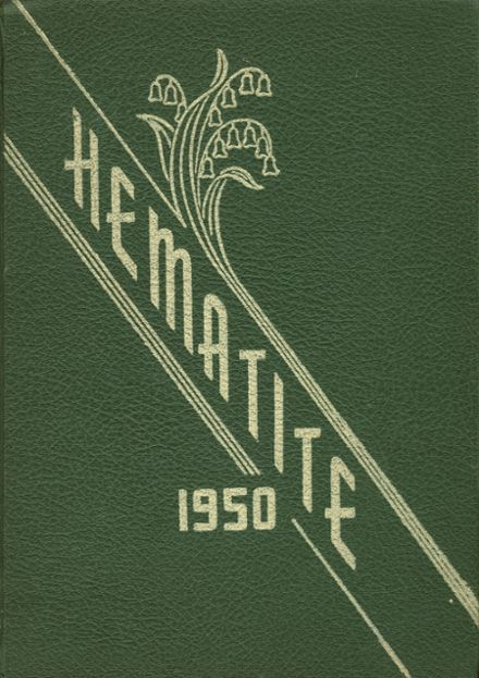 1950 Ishpeming High School Yearbook Cover
